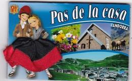 PAS DE LA CASA: Région D'Andorre  (jupe En Tissu) - Tourisme
