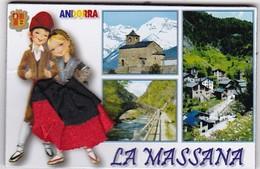 LA MASSANA : Région D'Andorre  ( Jupe En Tissu) - Tourisme