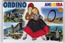 ORDINO : Région D'Andorre  ( Jupe En Tissu) - Tourisme
