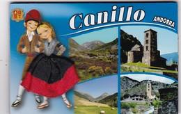 CANILLO : Région D'Andorre  ( Jupe En Tissu) - Tourisme