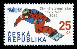 Czech Republic 2014 Mih. 795 Olympic Winter Games In Sochi. Snowboard MNH ** - Czech Republic