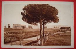 ROMA - ACQUEDOTTO DI CLAUDIO SULLA VIA APPIA NUOVA - Places & Squares