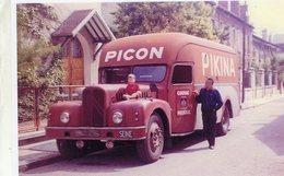Camion Citroen  -  Publicitaire Pour La Marque 'Picon Pikina'   -  15x10 PHOTO - Vrachtwagens En LGV