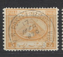 Egitto - 1867 - Usato/used - Sfinge - Mi N. 8 - Egitto