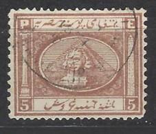 Egitto - 1867 - Usato/used - Sfinge - Mi N. 13 - Egitto