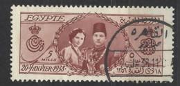 Egitto - 1938 - Usato/used - Matrimonio Reale - Mi N. 240 - Egitto