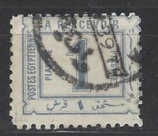Egitto - 1888 - Usato/used - Segnatasse - Mi N. 12 - Egitto