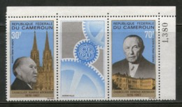 Cameroun 1967 German Chancellor Konrad Adenauer EUROPA - CEPT Sc C96a MNH # 550 - Cameroon (1960-...)