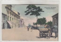 FALCONARA MARITTIMA  -VEDUTA PIAZZA DELLA STAZIONE - Ancona