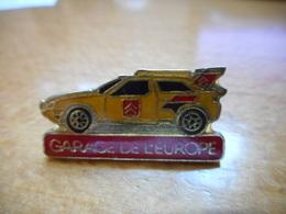 A016 -- Pin's Garage De L'Europe -- Exclusif Sur Delcampe - Badges