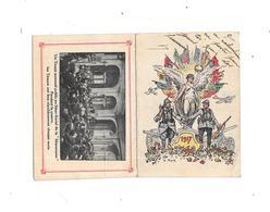 Calendrier De 1917; Militaria, Offert Par La Ste SEQUANAISE - Calendars