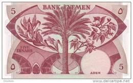 YEMEN DEMOCRATIC P. 8b 5 D 1984 UNC - Yémen