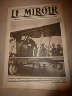 1919 LE MIROIR:Nos Chasseurs à Essweiler;Berlin;Bruges;Cologne;Désastre Au BEMBRIDGE LEDGE;Chasse Des Sous-marins;etc - Riviste & Giornali