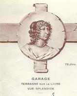 Facture Lettre 1956 / LOIRET / ORLEANS / Garage / Auberge De La MONTESPAN / Ancien RDV De Chasse De Louis XIV - 1950 - ...