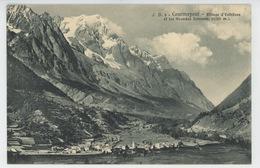 ITALIE - VAL D'AOSTA - COURMAYEUR - Village D' ENTRÈVES Et Les Grandes Jorasses - Italie