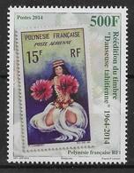 2014  Polynésie Française N° 1077  Nf** . MNH . Danseuse Tahitienne . - Polynésie Française