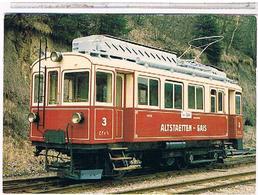 SUISSE    LUZERN 1986 TRAIN ALTSTATTEN GAIS BAHN - LU Lucerne