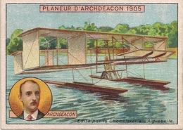 Aviation - Planeur De Ernest Archdeacon - 1905 - Publicité