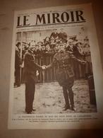 1919 LE MIROIR:Destruction Opium En Chine;Dirigeable Américain C.-5;Dirigeable Italien M.-I;Contre Mines Flottantes;etc - Revues & Journaux