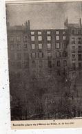 SAINT-ETIENNE  INCENDIE PLACE DE L'HOTEL-DE-VILLE LE 20 MARS 1907 - Saint Etienne