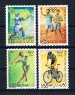 Monaco 1996 Olympia Mi.Nr. 2305/07 Kpl. Satz ** - Monaco