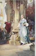 AK 0046  Kreling , August Von - Greicher In Der Kirche / Künstlerkarte Um 1910-20 - Malerei & Gemälde