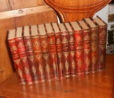 Emile Zola. 13 Volumes. - Lots De Plusieurs Livres
