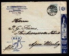 A5646) DR Infla Werbebrief Rostock 1.11.23 Mit EF - Briefe U. Dokumente