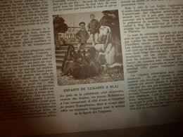 1919 LE MIROIR:Famine En Russie;Les Tziganes De Hongrie;Le Dirigeable Anglais R34;Invasion De Sauterelles Au Sahara;etc - Revues & Journaux