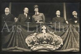 Postcard / ROYALTY / Belgique / België / Roi Leopold III / Koning Leopold III / Stokkel / Stockel / 1937 - St-Pieters-Woluwe - Woluwe-St-Pierre