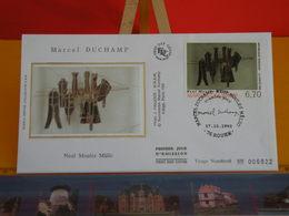 Marcel Duchamp, Neuf Moules Mâmic - Rouen (76) - 17.10.1998 - FDC 1er Jour Coté 5€ - FDC