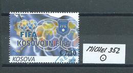 KOSOVO MICHEL 352 Gestempelt Siehe Scan - Kosovo
