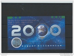 HONGRIE 2000 - YT BF N° 255 NEUF SANS CHARNIERE ** (MNH) GOMME D'ORIGINE LUXE - Blocks & Sheetlets