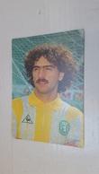 ANTIQUE POSTCARD PORTUGAL SOCCER SPORTING CLUB PORTUGAL SERGIO PLAYER 1985 UNUSED - Fútbol