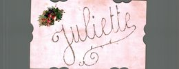 JULIETTE - Vornamen