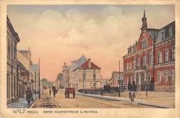 AK - WALD, Obere Kaiserstrasse U Rathaus - Germania