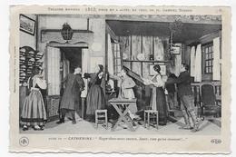 (RECTO / VERSO) PARIS - THEATRE ANTOINE - 1812 - ACTE IV CATHERINE - CPA NON VOYAGEE - Teatro