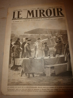 1919 LE MIROIR:Yougo-Slavie ; Berlin; La Poste Belge à Dusseldorf; Les Funérailles Nationales De Théodore Roosevelt;etc - Zeitungen & Zeitschriften