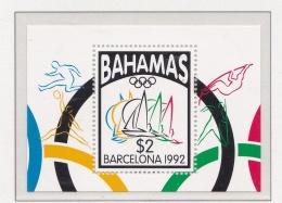 Bahamas 1992 Barcelona Olympic Summer Games - Souvenir Sheet MNH/**   (H43) - Ete 1992: Barcelone