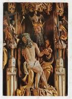 CHRISTIANITY - AK 333862 Lana Bei Meran - Pfarrkirche - Gnadenstuhl - Detail - Churches & Convents