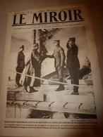 1919 LE MIROIR: Guerre Navale; La Nouvelle République Tchéco-Slovaque; Transport Des Trains à Travers Manche;Tokio ;etc - Zeitungen & Zeitschriften