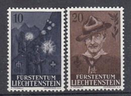Liechtenstein Nuovi: N. 322-3. ** - Liechtenstein