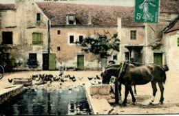 N°65307 -cpa Scènes Des Champs -retour à La Ferme- - Fermes
