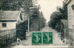 N°65315 -cpa Nanterre -le Chemin De La Ronde -Maison Départementale- - Nanterre
