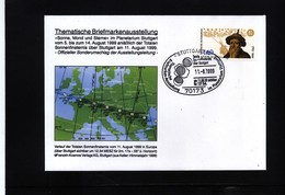 Germany / Deutschland 1999 Total Solar Eclipse Interesting Cover - Astronomie