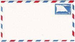 Air Letter 7 Cents - Stationery Stationary Entier Ganzsache - Aérogramme - New-York - Siège De L'ONU