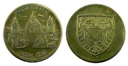 01357 GETTONE TOKEN JETON COMMEMORATIVE MUNICIPAL KLOSTER ETTAL GEGR. 1330 - Allemagne