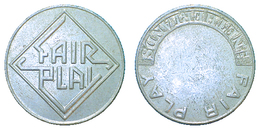 01959 GETTONE TOKEN JETON ARCADE AMUSEMENT FAIR PLAY THE NETHERLANDS - Netherland