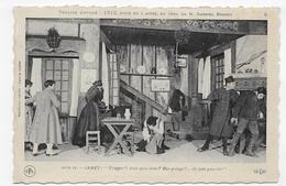 (RECTO / VERSO) THEATRE ANTOINE - 1812 - ACTE IV - JANET - CPA NON VOYAGEE - 75 - Teatro