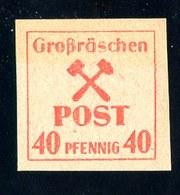 W-7217  Grossraschen 1945 Mi. #41y**- Offers Welcome. - Zone Soviétique